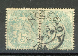 FRANCE - TYPE BLANC - N° Yvert 111 Obli Cà D DE NOZEROY 1905 - 1900-29 Blanc