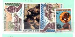 HAUTE VOLTA OB  N° 284 + 434 + 285 + 369 - Haute-Volta (1958-1984)