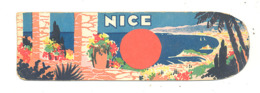 Marque-pages Publicitaire NICE (b260 / 2) - Marque-Pages