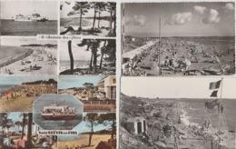 19 / 9/ 386. -  SAINT  BRÉVIN  ( 44 ). LOT  DE. 18. CPSM. - Toutes Scanées - Cartes Postales