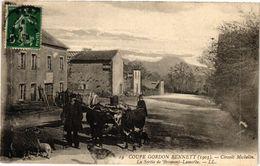 CPA COUPE GORDON BENNET - La Sortie De BROMONT-Lamothe (72826) - Frankreich
