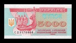 Ucrania Ukraine 5000 Karbovantsiv 1995 Pick 93b SC UNC - Ucrania