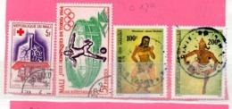 MALI OB  N° 79 + 63 + 570 + 572 - Mali (1959-...)