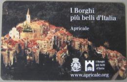 NUOVA -(Mint) --1824-TELECOM ITALIA- I BORGHI D'ITALIA-APRICALE - Italia