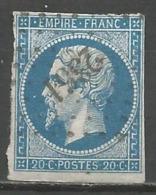 FRANCE - Oblitération Petits Chiffres LP 2351 OUDON (Loire-Atlantique) - 1849-1876: Période Classique