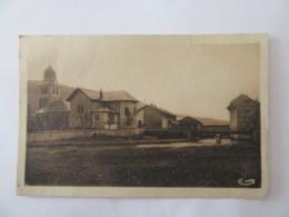 Bois D'Amont (Jura) - L'Eglise Et Le Pont Sur L'Orbe - Carte Circulée En 1947 - France