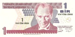 TURKEY 1 LIRA 2005 PICK 216 UNC - Turquie