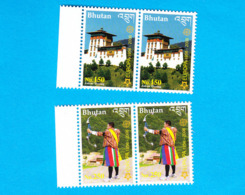 BHUTAN 2006 Europe Stamps Pairs MNH !!! Rare !!! Bhoutan - Bhután