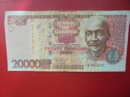 GHANA 20.000 CEDIS 2003 CIRCULER(B.4) - Ghana