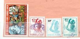 NIGER OB N° 808 + TAXE 4 7 10 - Mali (1959-...)