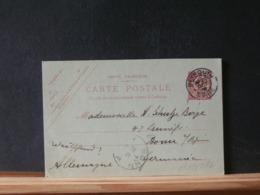 A10/671 CP LEVANT  OBL.  BEYROUTH   1908 POUR ALLEMAGNE - Levant (1885-1946)