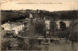 CPA Argenton-Chateau (D S.) - Le Pont De Ciron (297414) - Argenton Chateau