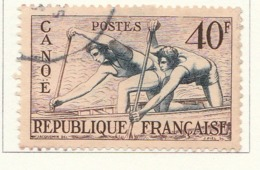 PIA - FRA - 1953 : Giochi Olimpici Del 1952 A Helsinki - Canoa - (Yv 963) - Sommer 1952: Helsinki