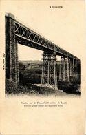 CPA THOUARS Viaduc Sur Le Thouel (40 M De Haut) Premier Grand Travail (297459) - Thouars