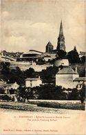 CPA PARTHENAY - Église St-LAURENT Et Marché Couvert - Vue Prise Du (297468) - Parthenay