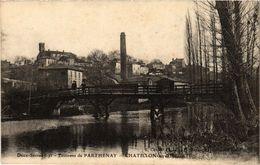 CPA Env. De PARTHENAY - CHATILLON-sur-Hautet (297486) - Autres Communes