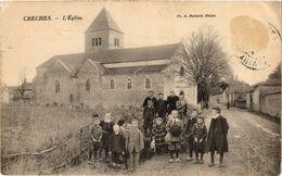 CPA Cherces - L'Église (297491) - Autres Communes