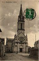CPA Pas-de-Jeu - L'Église (297493) - Autres Communes