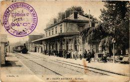 CPA St-MAIXENT - La Gare (297497) - Saint Maixent L'Ecole