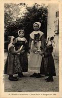 CPA NIORT Et Ses Env. - Jeune Mariée De Mongon Vers 1860 (297502) - Autres Communes
