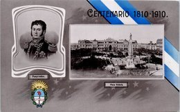 ARGENTINE - Pueyrredon - Plaza Victoria - Centenario 1810 -1910 - Argentine