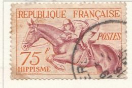 PIA - FRA - 1953 : Giochi Olimpici Del 1952 A Helsinki - Ippica - (Yv 965) - Paardensport