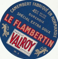 Rare étiquette De Fromage  Camembert Le Flambertin - Fromage