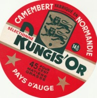 Rare étiquette De Fromage  Camembert Rungis'or - Fromage