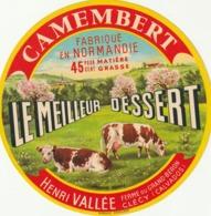 Rare étiquette De Fromage  Camembert Le Meilleur Dessert - Fromage