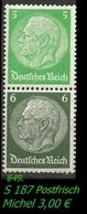 Postfrischer ZDR - Mi. Nr. S 187 - Zusammendrucke