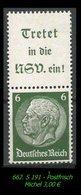 Postfrischer ZDR - Mi. Nr. S 191 - Zusammendrucke
