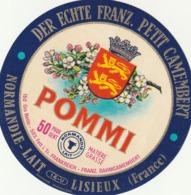 Rare étiquette De Fromage Petit Camembert Pommi - Fromage