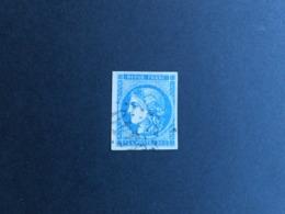CERES 20 C Type II Report 3, Y&T 45C, état TB - 1870 Ausgabe Bordeaux