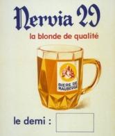 @@@ MAGNET - Nervia 29 La Blonde De Qualité. Bière De Maubeuge - Advertising