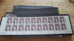 LOT 471752 TIMBRE DE FRANCE NEUF** LUXE COIN DATE  FACIALE 9,1 EUROS BLOC - France