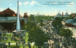 CANADA - Looking West From Grand Stand - Canadian National Exhibition Toronto - VG Animation Etc - Exposiciones