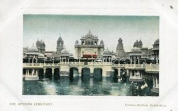 UNITED KINGDOM Franco-British Exhibition London -  The Opening Ceremony 1908 - Exhibitions