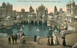 UNITED KINGDOM Franco-British Exhibition London -  Swan Boats Court Of Honour 1908 - Exposiciones