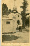 UNITED KINGDOM  1913 - Advertising Card H C Cleaver Ltd - The Chapel Russian Village At Qlympia - Exposiciones