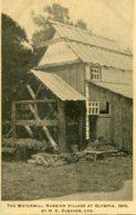 UNITED KINGDOM  1913 - Advertising Card H C Cleaver Ltd - The Watermill Russian Village At Qlympia - Esposizioni