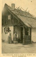 UNITED KINGDOM  1913 - Advertising Card H C Cleaver Ltd - The Church Russian Village At Qlympia - Exposiciones