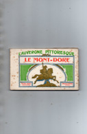 LE MONT DORE - Carnet 20 Cartes - Le Mont Dore
