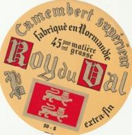 Rare étiquette De Fromage Camembert Roy Du Val - Fromage