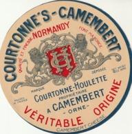 Rare étiquette De Fromage Camembert Courtonne's - Fromage
