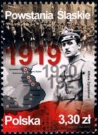 Poland 2019 Fi 4997 Mi 5147 Silesian Uprisings - 1944-.... República
