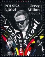 Poland 2019 Fi 4999 Mi 5149 Polish Jazz Musicians - Jerzy Milian - 1944-.... República