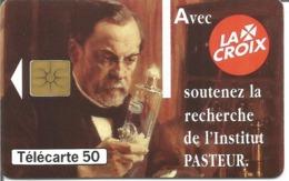 Télécarte JAVEL LACROIX - INSTITUT PASTEUR - 50 U GEM - 11/95 Utilisée N° 581 - 1995