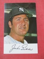 Jake Gibbs   1971 Clinic Schedule       NY Yankees >>ref 3632 - Baseball