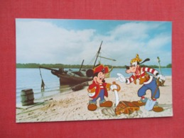 Disneyworld  Mickey Mouse & Goofy On Discovery Island >ref 3632 - Disneyworld