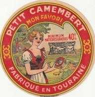 Rare étiquette De Fromage Petit Camembert Mon Favori - Fromage